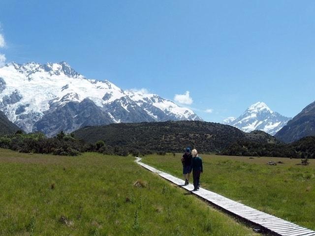 kea-point-hiker